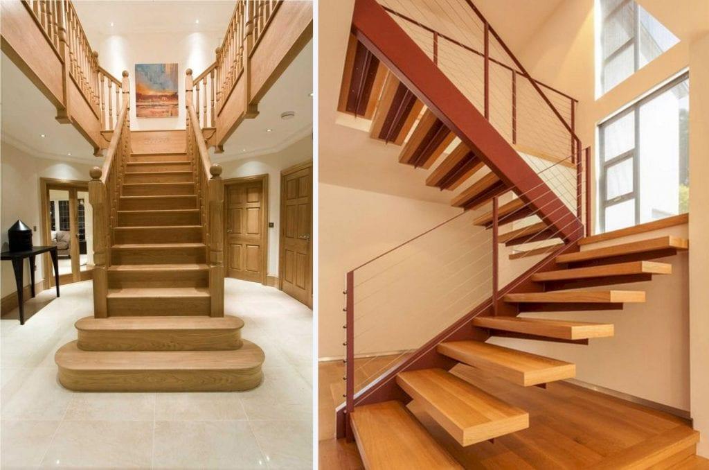 cau-thang-go-dep-8-1024x678 Mẫu cầu thang gỗ đẹp phổ biến hiện nay