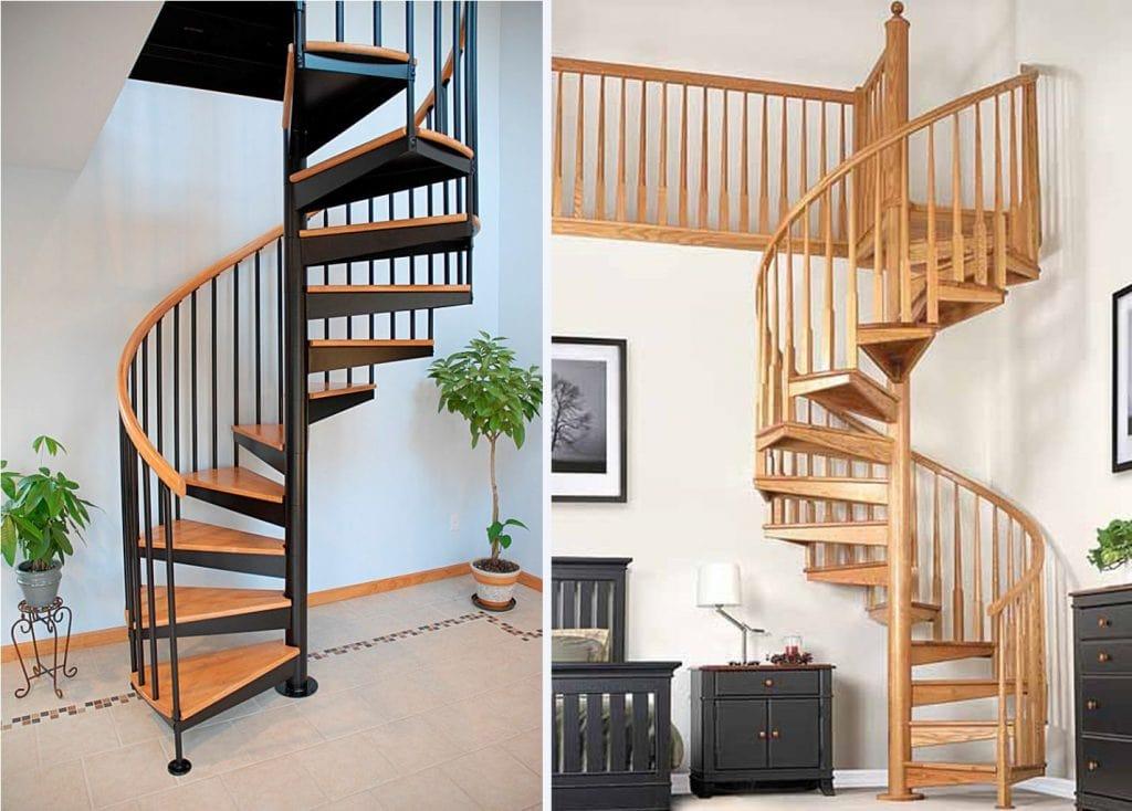 cau-thang-xoan-oc-3-1024x734 Mẫu cầu thang gỗ đẹp phổ biến hiện nay