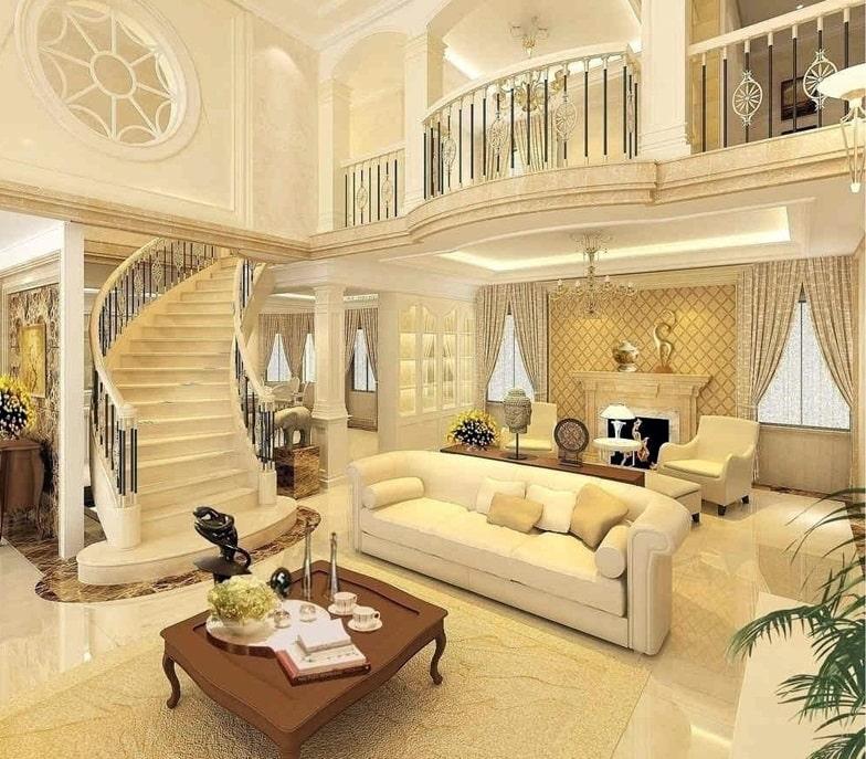 chi-phi Xu hướng mới trong thiết kế nội thất biệt thự