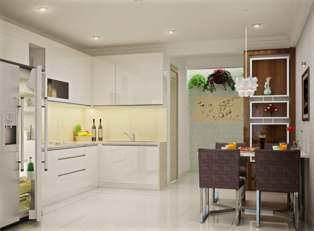 don-gian-và-hien-dai-1024x754 [Kiến thức] Thiết kế nội thất bếp phòng ăn như thế nào?