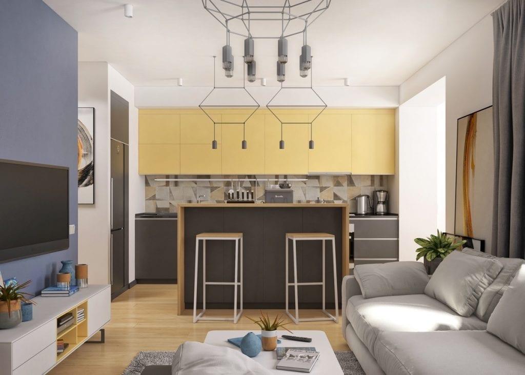 geometric-lighting-trends-1024x731 Đèn thả bàn ăn - Đặc điểm và ứng dụng trong trang trí nội thất