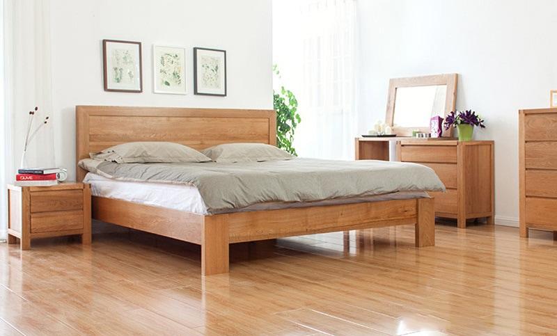 giuong-go-tu-nhien-ghs-964-8 Gỗ Sồi: Đặc trưng và ứng dụng của gỗ sồi trong nội thất