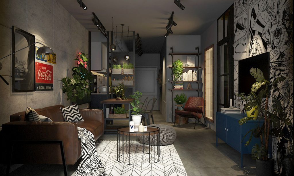 indoor-plants-1024x614 Ghế sofa - Đồ nội thất phổ biến trong phòng khách gia đình