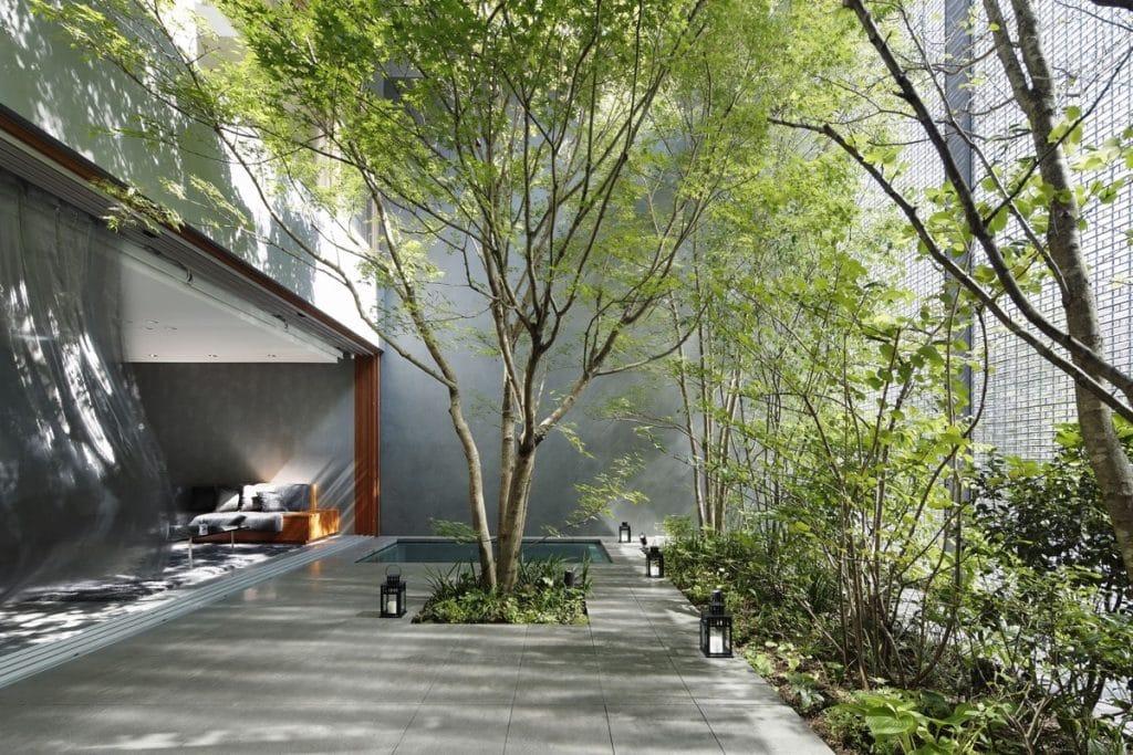 modern-private-courtyard-inspiration-1024x683 [Kiến thức] Phong cách Eco trong thiết kế nội thất