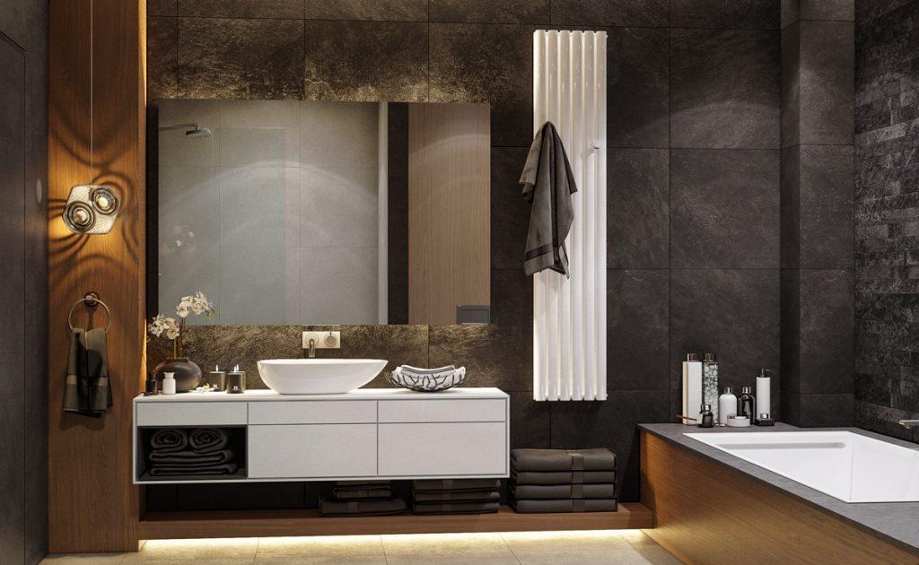 modern-white-bathroom-vanity-1024x630 Cách lựa chọn gạch ốp nhà vệ sinh đẹp