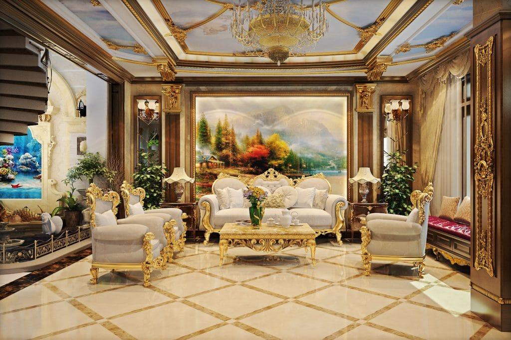 noi-that-phong-khach-co-dien-3-1024x683 [Kiến thức] Thiết kế nội thất cổ điển là gì?