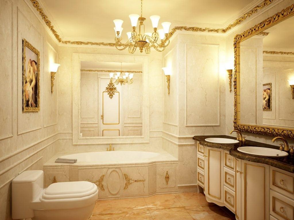 noi-that-phong-tam-gia-co-1024x768 [Kiến thức] Thiết kế nội thất cổ điển là gì?