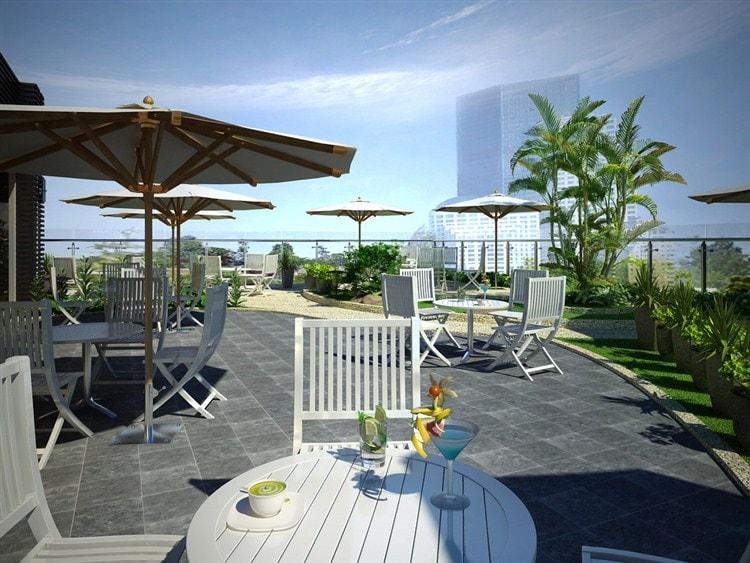 noi-that-quan-cafe-tren-san-thuong-2 Tổng hợp kiến thức về thiết kế quán cafe