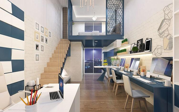 officetelsaigonmiadoanhnhansaigon-1534130848 Thiết kế nội thất Officetel - giải pháp đầu tư hoàn hảo