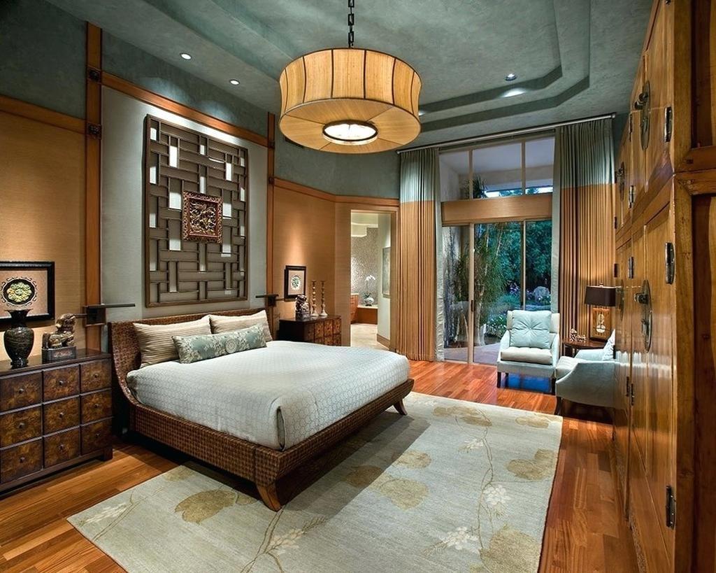phòng-ngủ-1024x819 [Kiến Thức] Phong cách Á Đông trong thiết kế nội thất
