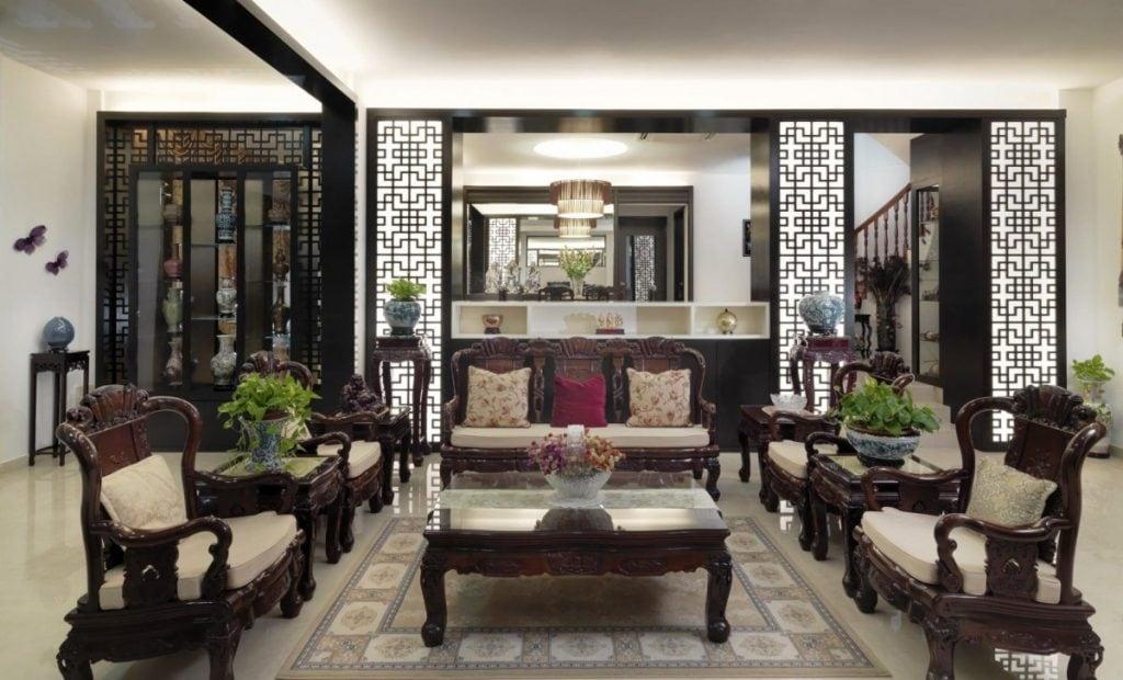 phong-khach-viet-nam-2-1024x620 [Kiến Thức] Phong cách Á Đông trong thiết kế nội thất