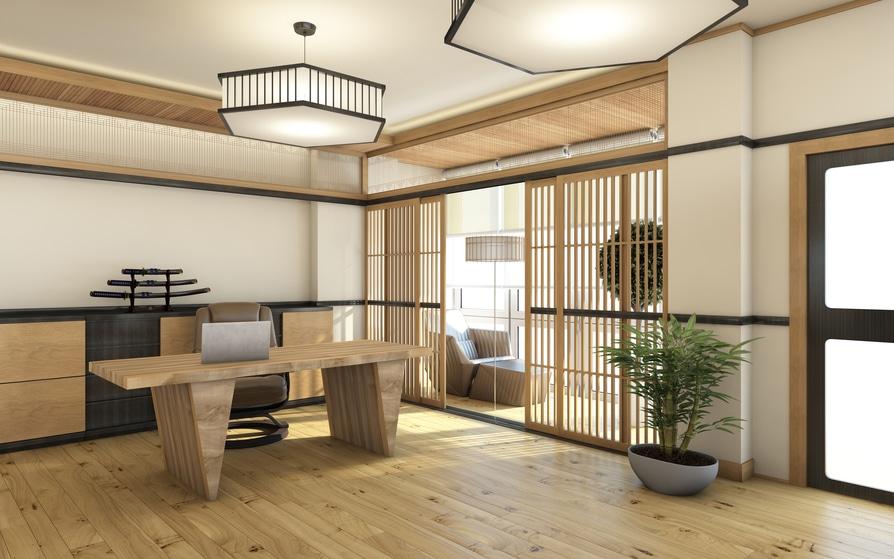 phong-lam-viec-phong-cach-nhat-ban Phong cách Nhật Bản và những sự thật thú vị mà bạn không nên bỏ qua