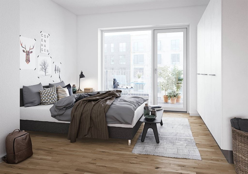 phong-ngu-scandinavian-1024x717 [Tư vấn] Thiết kế nội thất phòng ngủ đẹp