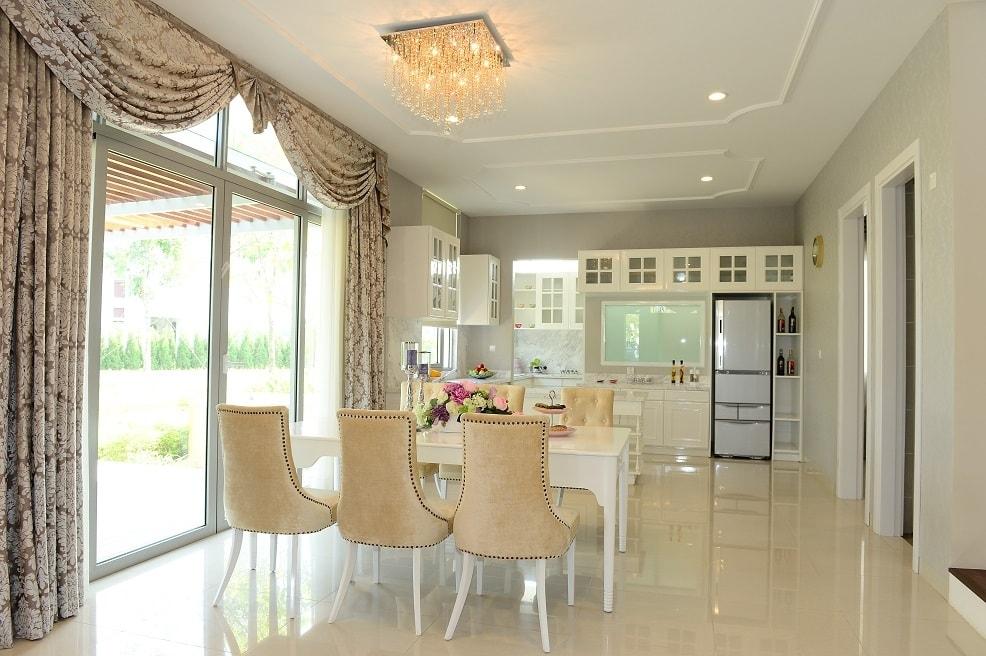 retro-style-kitchen-dining-room-design Xu hướng mới trong thiết kế nội thất biệt thự