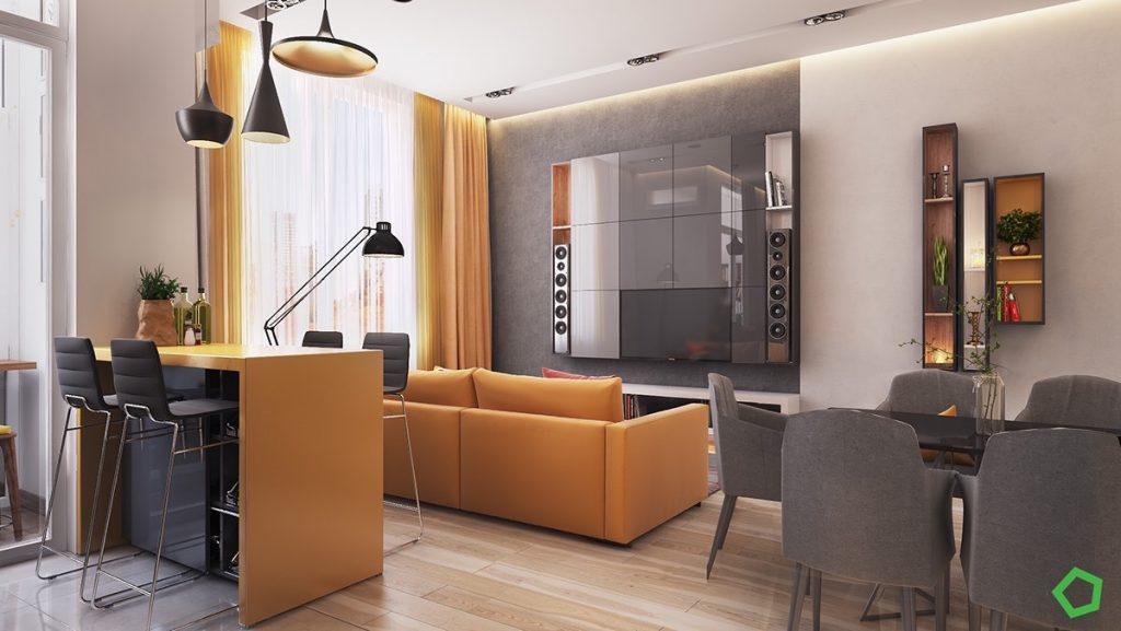 studio-dining-pendant-lights-1024x577 Đèn thả bàn ăn - Đặc điểm và ứng dụng trong trang trí nội thất
