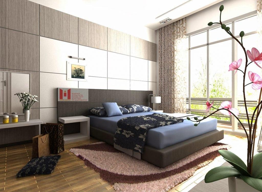 tham-trai-san-phong-ngu-1024x751 Chọn đồ trang trí phòng ngủ thế nào cho phù hợp?