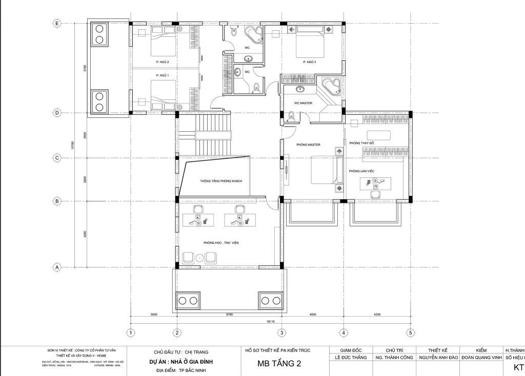 thiet-ke-biet-thu-tran-co-dien-4-2-1024x734 Thiết kế nội thất Officetel - giải pháp đầu tư hoàn hảo