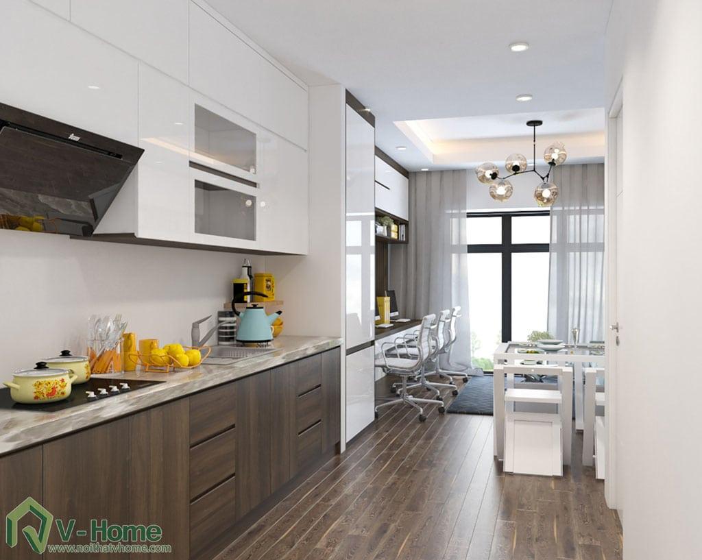 thiet-ke-can-ho-officetel-river-gate-7 Thiết kế nội thất Officetel - giải pháp đầu tư hoàn hảo