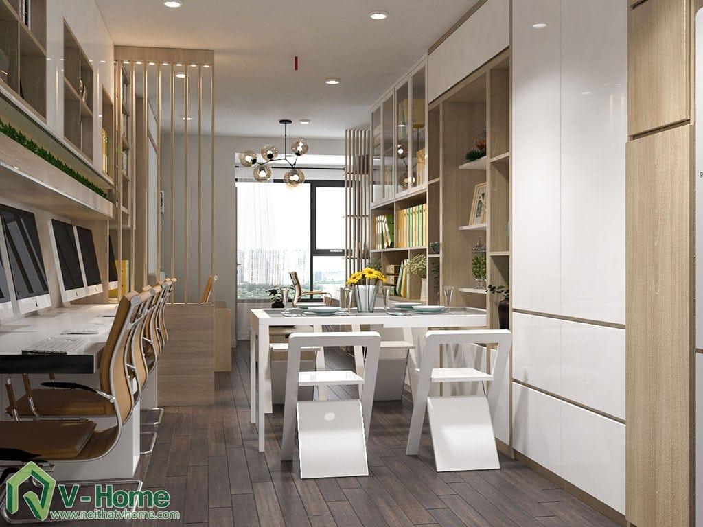 thiet-ke-chung-cu-officetel-river-gate-2 Thiết kế nội thất Officetel - giải pháp đầu tư hoàn hảo