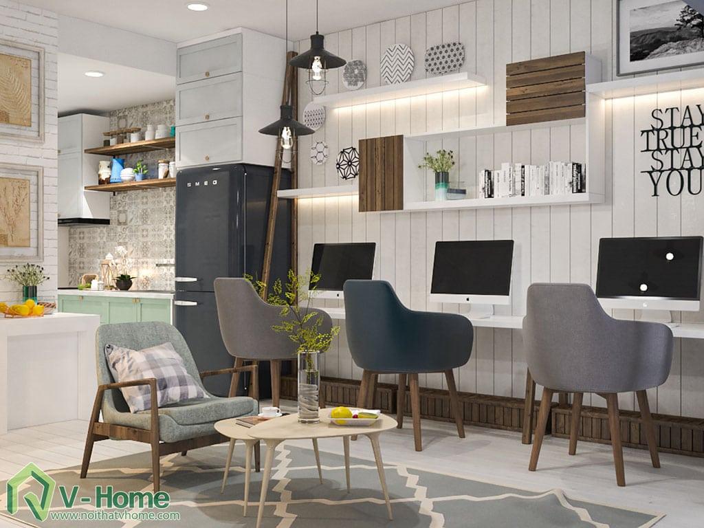 thiet-ke-noi-that-chung-cu-officetel-river-gate-4 Thiết kế nội thất Officetel - giải pháp đầu tư hoàn hảo