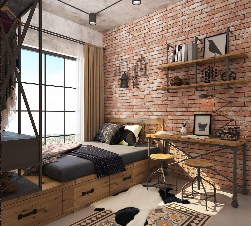 thiet-ke-noi-that-chung-cu-scenic-valley-13 [Kiến thức] Thiết kế nội thất Industrial - Phong cách công nghiệp
