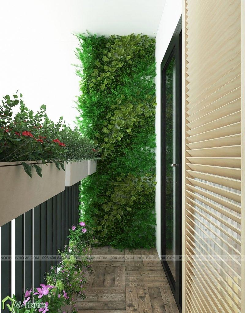 thiet-ke-phong-khach-chung-cu-n02-yen-hoa-10-800x1024 Thiết kế nội thất chung cư N02 - 259 Yên Hòa phong cách Scandinavian