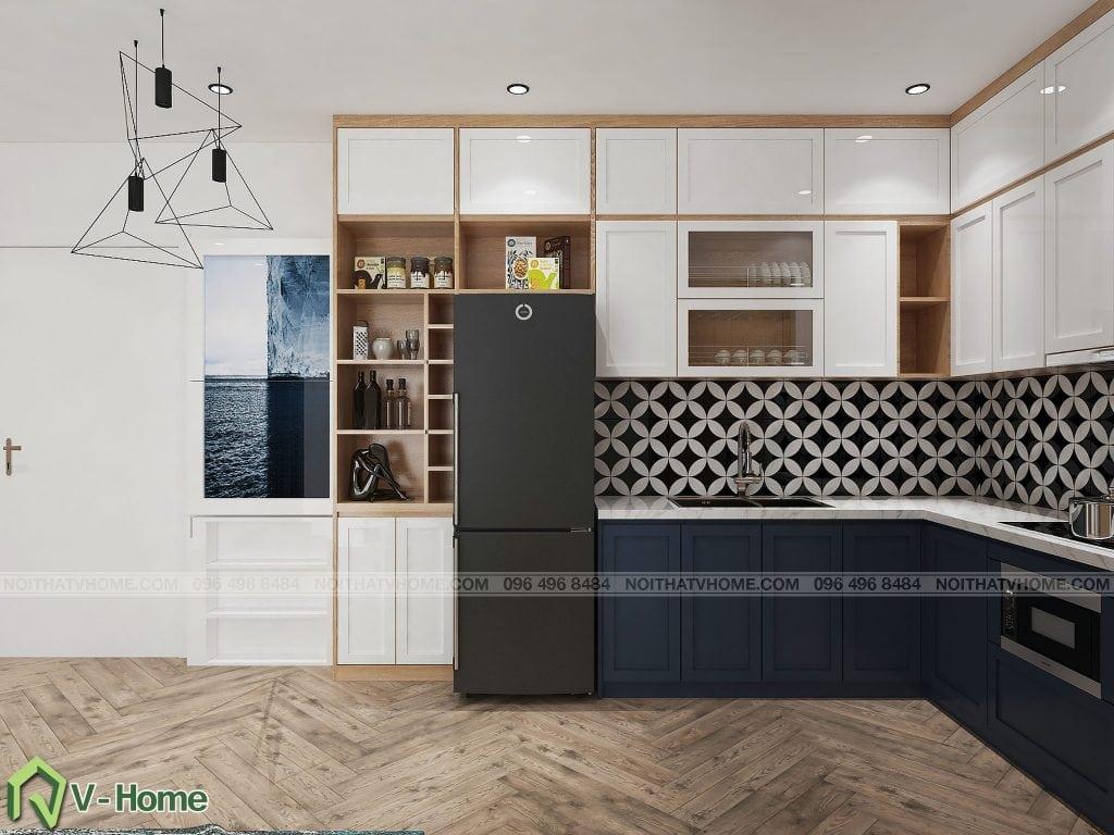 thiet-ke-phong-khach-chung-cu-n02-yen-hoa-7-1024x768 Thiết kế nội thất chung cư N02 - 259 Yên Hòa phong cách Scandinavian