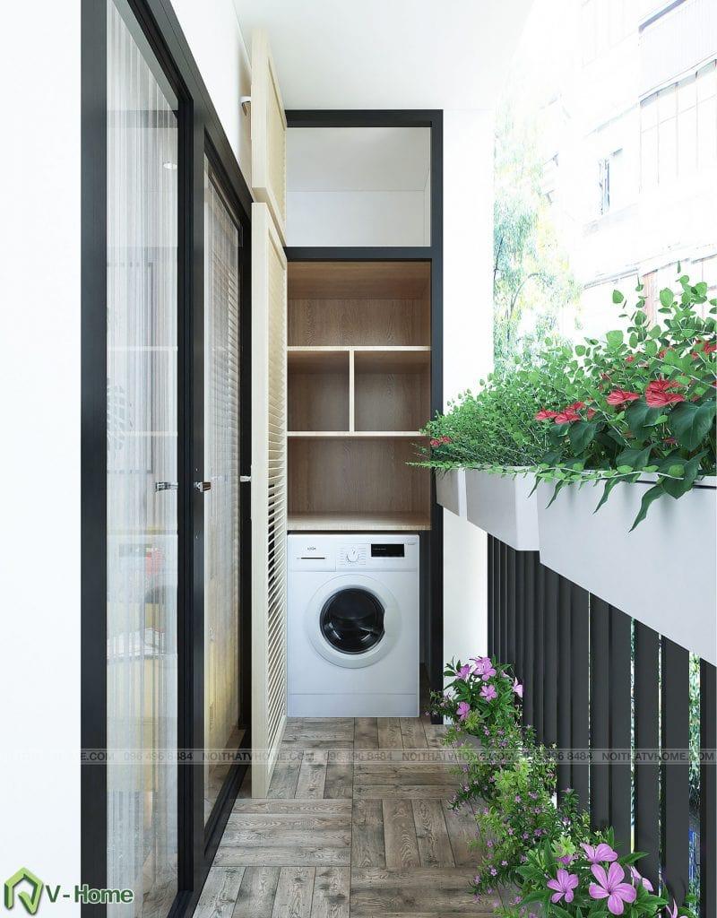 thiet-ke-phong-khach-chung-cu-n02-yen-hoa-9-800x1024 Thiết kế nội thất chung cư N02 - 259 Yên Hòa phong cách Scandinavian