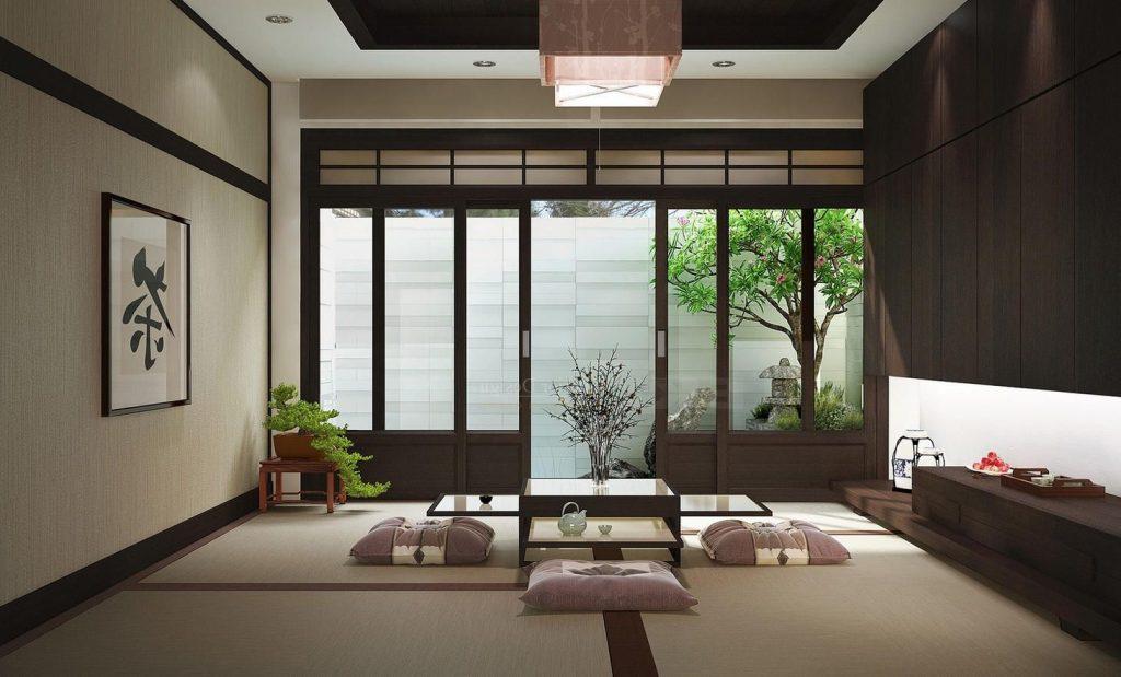 thiet-ke-phong-khach-theo-phong-cach-nhat-ban-1024x619 Phong cách Nhật Bản và những sự thật thú vị mà bạn không nên bỏ qua