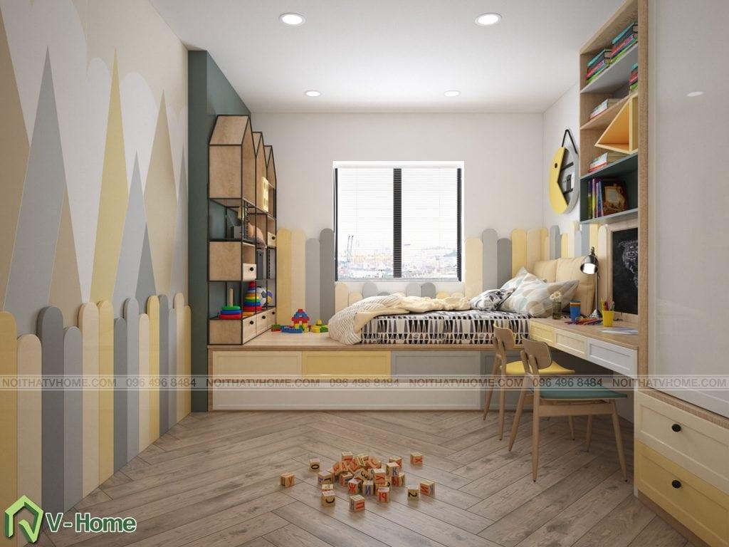 thiet-ke-phong-ngu-chung-cu-n02-yen-hoa-10-1024x768 Thiết kế nội thất chung cư N02 - 259 Yên Hòa phong cách Scandinavian