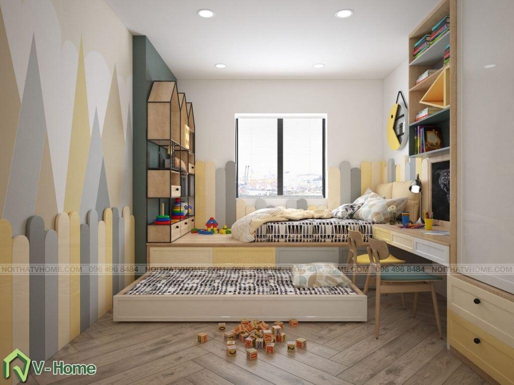 thiet-ke-phong-ngu-chung-cu-n02-yen-hoa-11-1024x768 Thiết kế nội thất chung cư N02 - 259 Yên Hòa phong cách Scandinavian