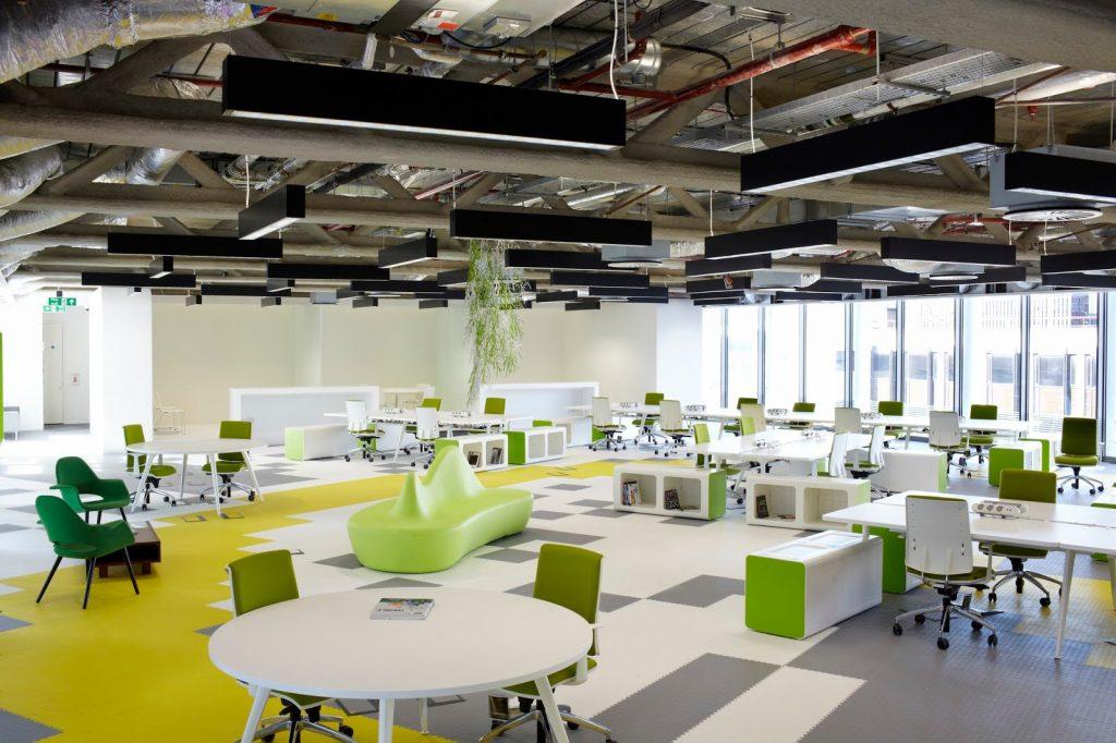 thiet-ke-van-phong-hien-dai-googlesite-1024x682 [Kiến thức] Thiết kế nội thất văn phòng chuẩn đẹp