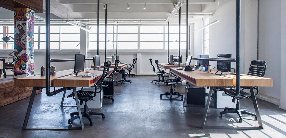 thiet-ke-van-phong-lam-viec-3 [Kiến thức] Thiết kế nội thất Industrial - Phong cách công nghiệp