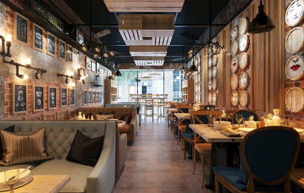 thiet-ke-vietface-restaurant-2-1024x649 [Tổng hợp kiến thức] Thiết kế nội thất nhà hàng
