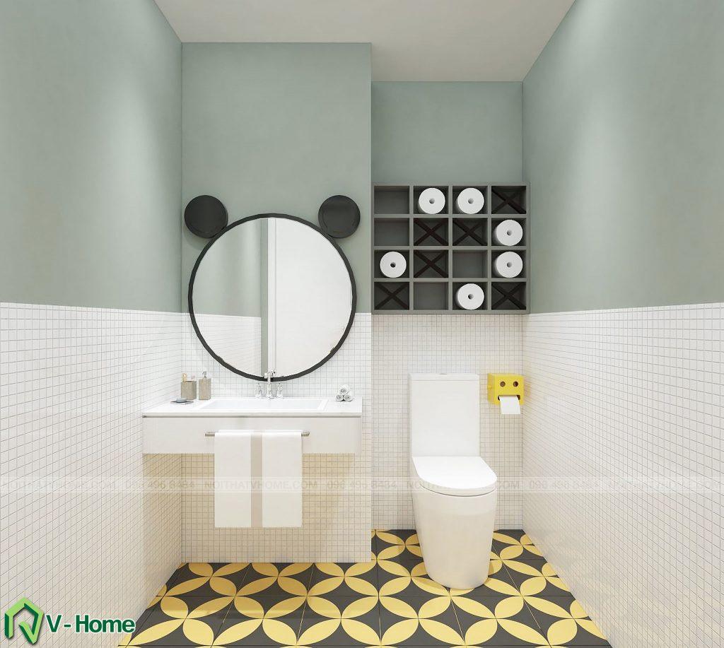 thiet-ke-wc-chung-cu-n02-yen-hoa-2-1024x917 Thiết kế nội thất chung cư N02 - 259 Yên Hòa phong cách Scandinavian