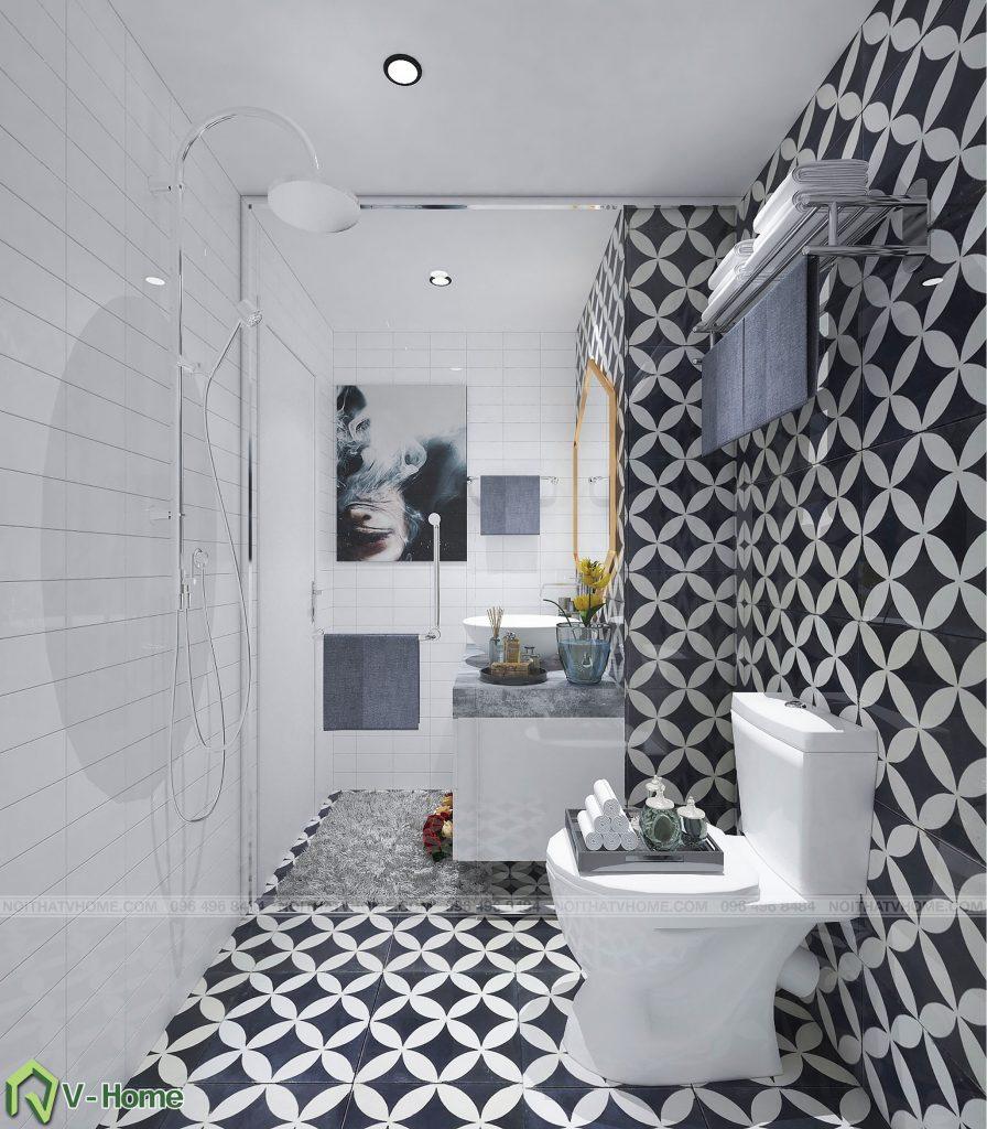 thiet-ke-wc-chung-cu-n02-yen-hoa-4-896x1024 Thiết kế nội thất chung cư N02 - 259 Yên Hòa phong cách Scandinavian