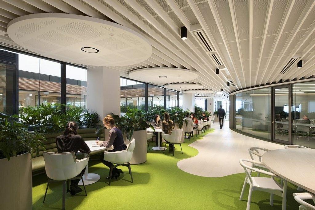văn-phong-lam-viec-1024x683 [Kiến thức] Thiết kế nội thất văn phòng chuẩn đẹp