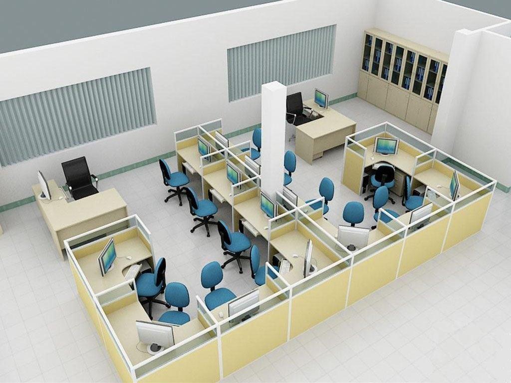 vachnganviet-1024x768 [Kiến thức] Thiết kế nội thất văn phòng chuẩn đẹp
