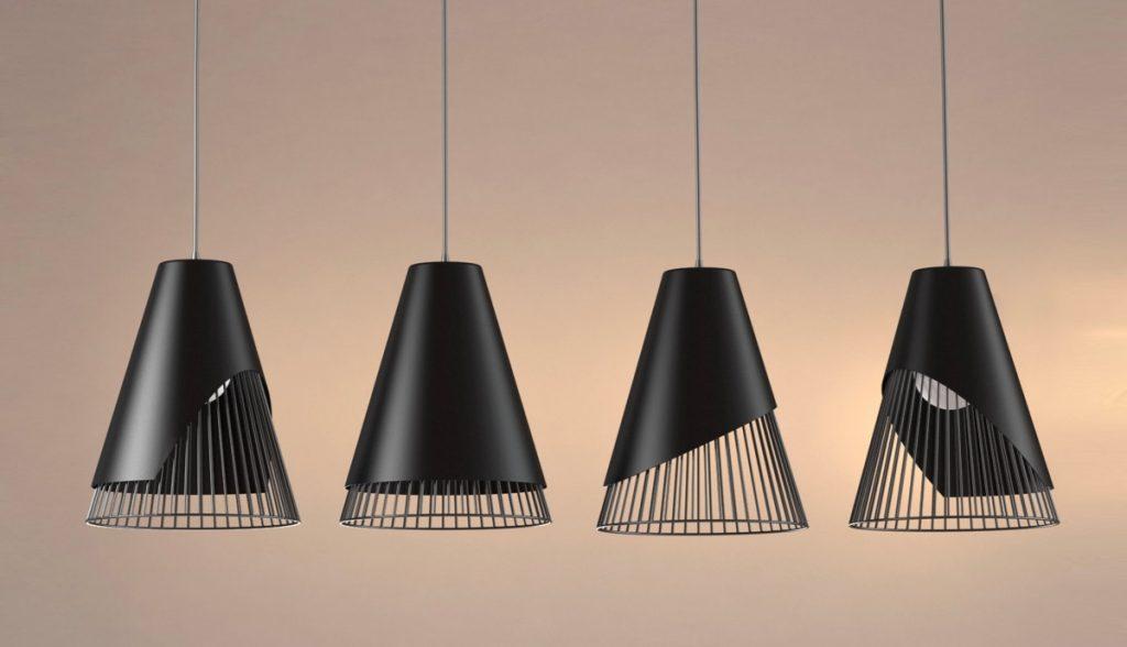 wire-and-matte-black-suspension-light-1024x588 Đèn thả bàn ăn - Đặc điểm và ứng dụng trong trang trí nội thất
