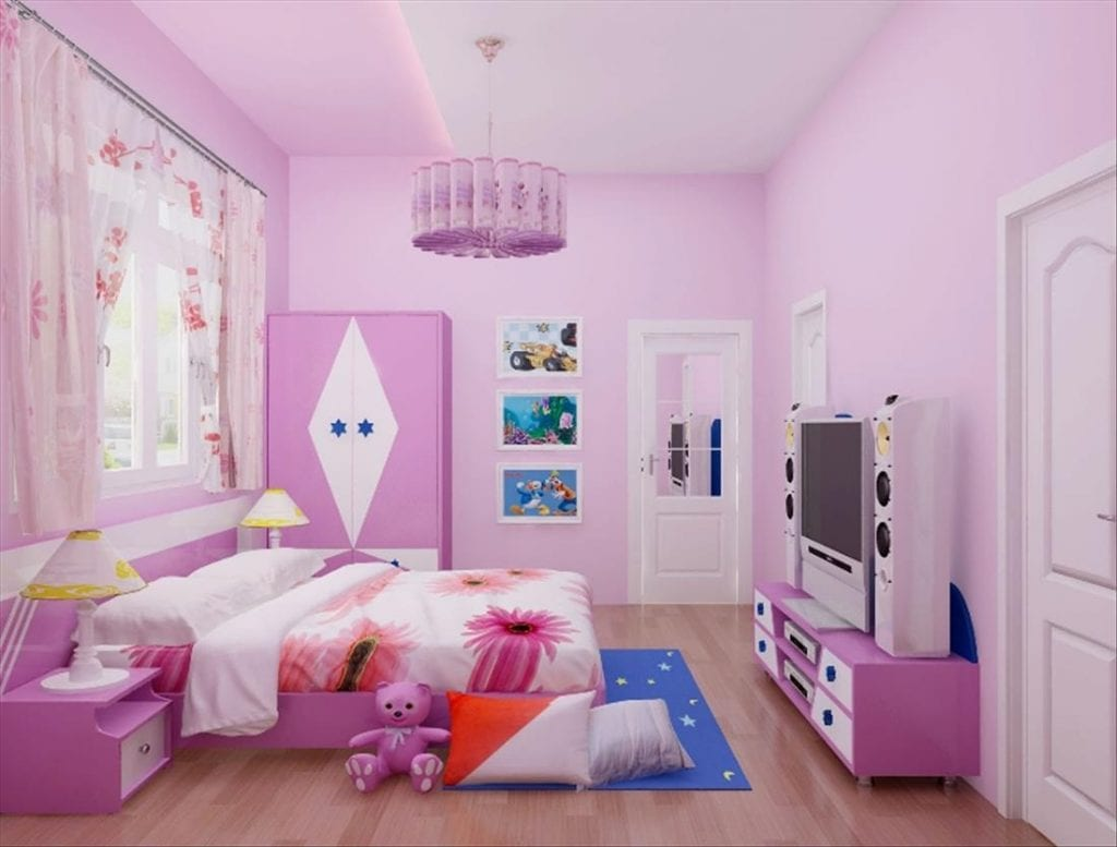 69-1-1024x777 Gợi ý cách thiết kế phòng ngủ cho bé gái 15 tuổi