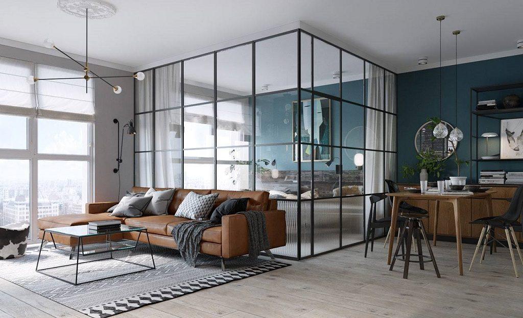 Ban-Ghe-Xep-Gap-Loc-Lam-Furniture-Da-Nang-Thong-Minh-Dep-Oval-Tu-Nhien-6-1024x623 Trang trí nhà với vách ngăn phòng khách và phòng ngủ