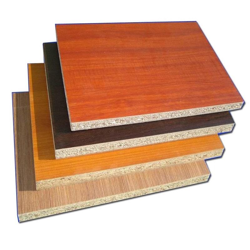 Muestras-de-melamina Gỗ MFC - loại gỗ công nghiệp được sử dụng phổ biến nhất hiện nay