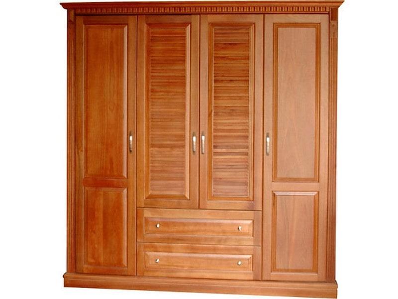 Tủ-quần-áo-bằng-gỗ-chò-chỉ Gỗ Chò chỉ và ứng dụng vào phục vụ nhu cầu con người