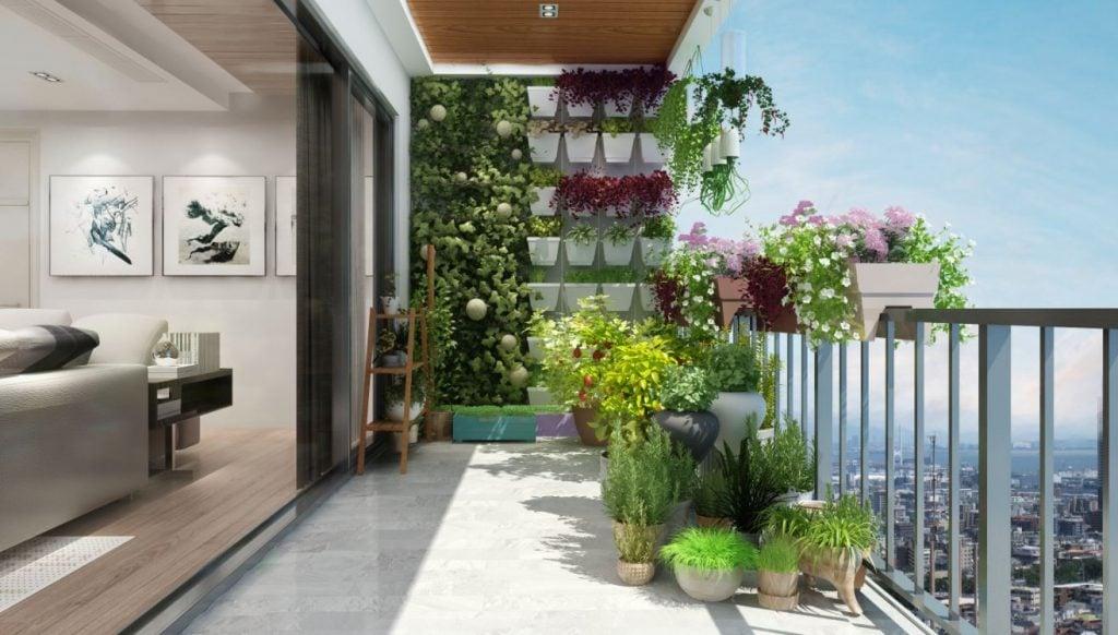 ban-cong-xanh-chung-cu-ancora-riverside-1024x582 Thiết kế logia - Không gian nhỏ nhưng cần thiết cho nhà chung cư