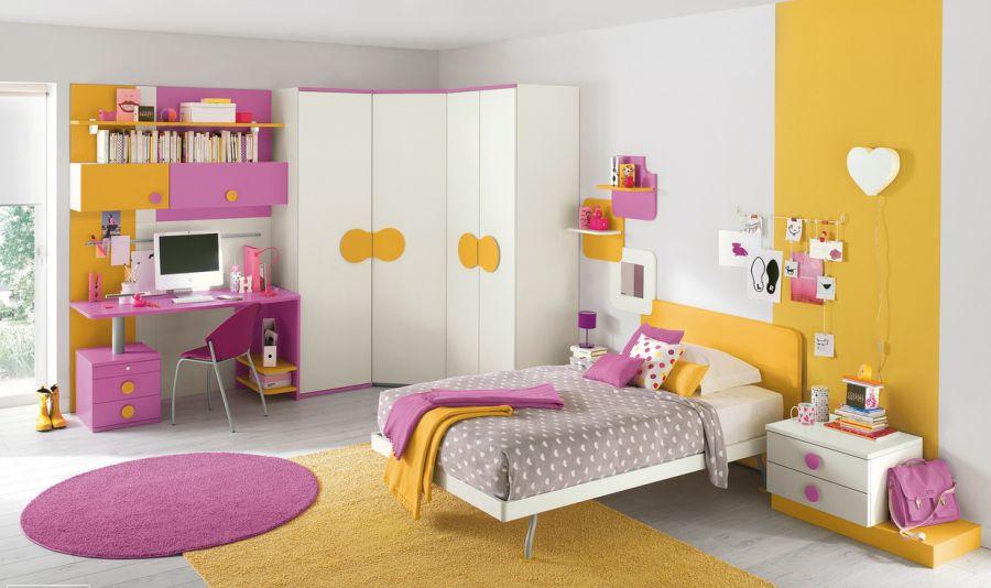 chia-se-18-mau-phong-ngu-dep-cho-be-gai-tu-8-den-15-tuoi-8 Gợi ý cách thiết kế phòng ngủ cho bé gái 15 tuổi