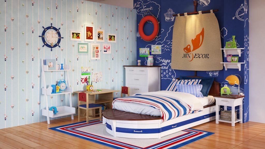 fL7cy5Q-1024x576 Gợi ý cách thiết kế phòng ngủ cho bé gái 15 tuổi
