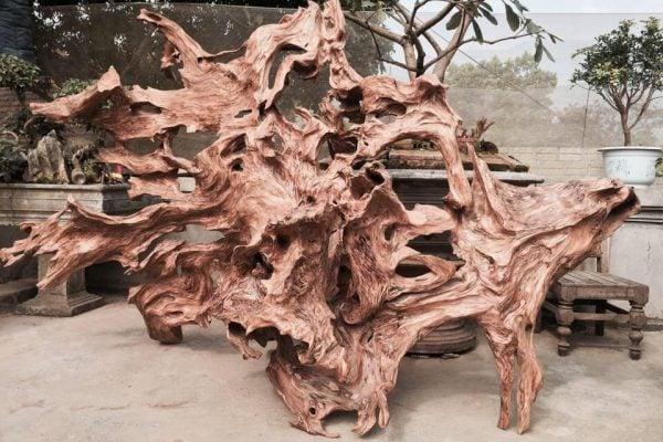 gỗ lũa