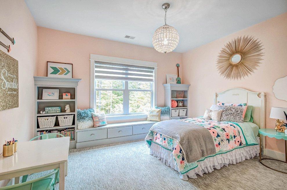 img20180409085432502 Gợi ý cách thiết kế phòng ngủ cho bé gái 15 tuổi