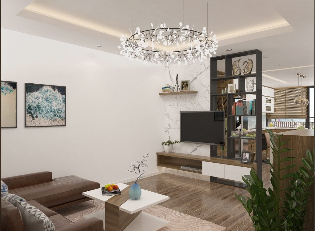 Giá kệ Nghệ An giúp khách hàng lựa chọn kệ trang trí phòng khách nhỏ