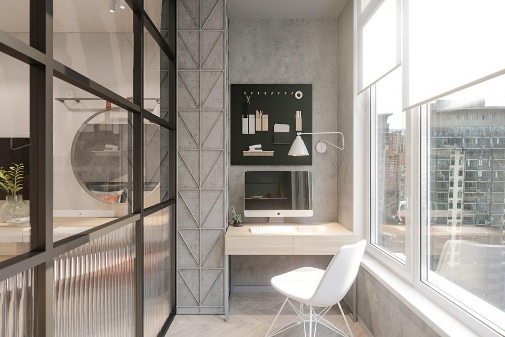 phong-lam-viec-o-logia-1024x683 Thiết kế logia - Không gian nhỏ nhưng cần thiết cho nhà chung cư